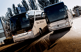 Rental of buses for the disabled
