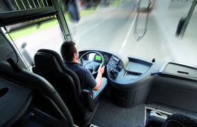 High comfort bus rental