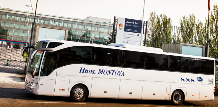 Hnos. Montoya amplía su servicio de transporte para ferias y congresos.