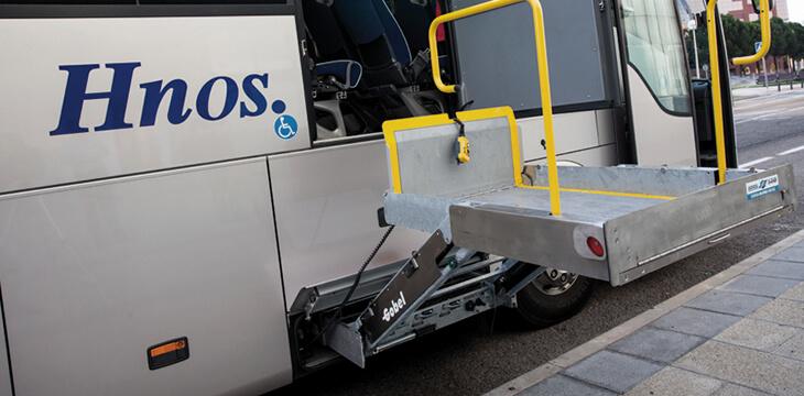 Hnos. Montoya facilita el transporte adaptado en Madrid