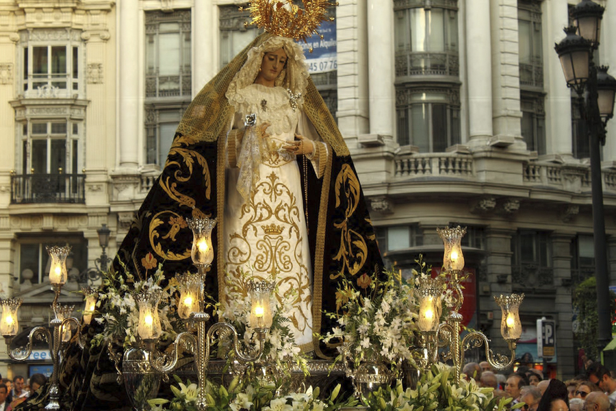 Was in der Karwoche in Madrid zu sehen ist