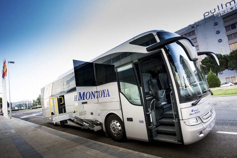 The demand for transport services for hotels in Madrid grows